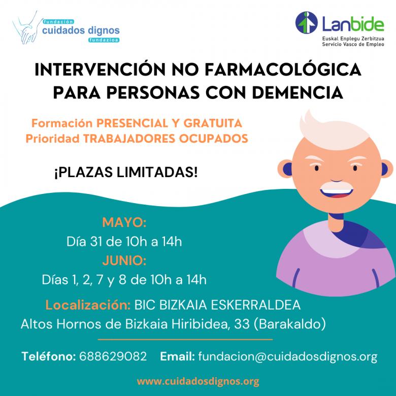 Curso Intervencion No Farmacologica Para Personas Con Demencia Fundacion Cuidados Dignos